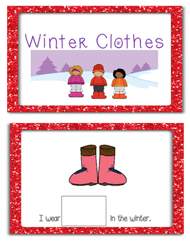 Winter Clothes - Adapted Book