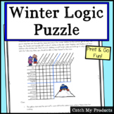 Winter Logic Puzzle (Winter Clothes)