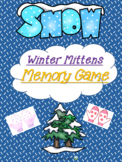 Winter Mittens - Memory Game