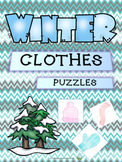 Winter Clothes - Puzzles