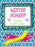 Winter Scarfs - Flash Cards