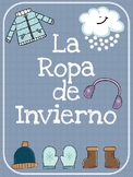 Winter Clothes Spanish Pack - La Ropa de Invierno