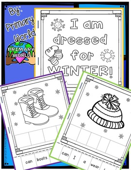 Dressed for Winter, Sentence Cut and Build Book