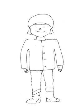 Winter Clothes Vocabulary
