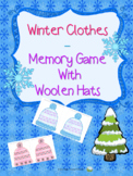 Winter Clothes – Hats Memory Game