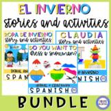 Winter Clothes in Spanish Bundle - La ropa de invierno