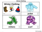 Winter Clothing 2 Emergent Readers