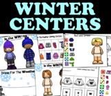 Clothing Unit Centers - WINTER for 3K, Preschool, Pre-K and Kindergarten