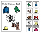Winter Clothing Adapted Book