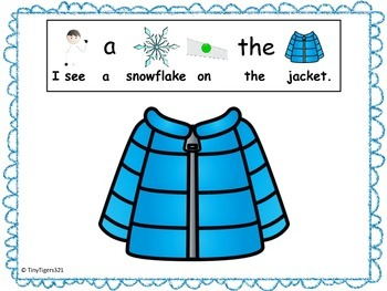 Winter Clothing Reverse Interactive Book