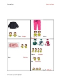 Winter Clothing Chart for Non-Verbal Individuals Birth to 3+