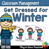 Winter Clothing Interactive Folder