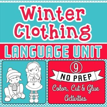 Winter Clothes Sort Teaching Resources | Teachers Pay Teachers
