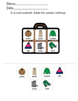 Winter Clothing Match