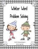 Winter Clothing Math Problem Solving Fun