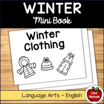 Winter Clothing Mini Book EN