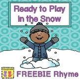 Winter Clothing Rhyme Freebie