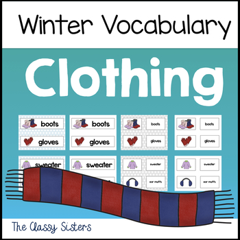 Winter Clothing Vocabulary