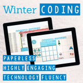 Winter Coding Digital Interactive Activities for Google Slides or PowerPoint