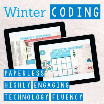 Winter Coding Digital Interactive Activities