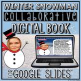 Winter Collaborative Digital Book in Google Slides™ ☃