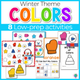 Winter Color Activities   Winter Color Sorting   Winter Centers