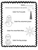 Winter Color Assessment