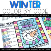 Color By Code Winter
