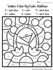 Winter Coloring Pages Color By Code First Grade