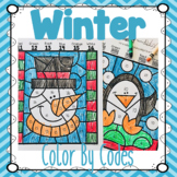 Winter Color By Codes!