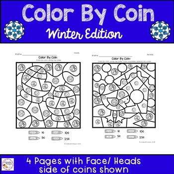 Winter Color By Coin