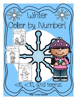 Winter Color By Number