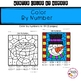 Winter Color By Number Math Activities