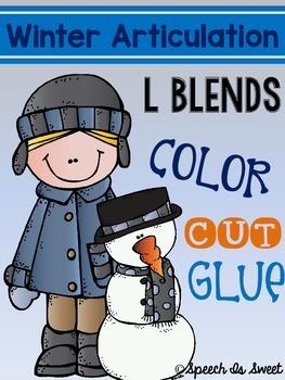 Winter Articulation: L Blends