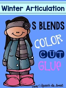 Winter Articulation: S Blends