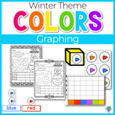 Winter Color Graphing Activities | Color Graphing | Winter Math Centers