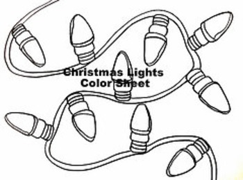 Christmas Winter Holiday Color Sheet 4 Pack