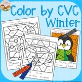 Winter Color by CVC Word