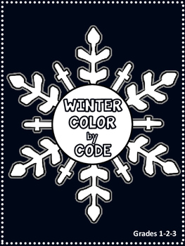 Color by Code {Winter}
