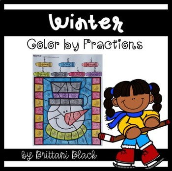 Winter~ Color by Code