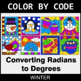 Winter Color by Code - Converting Radians to Degrees