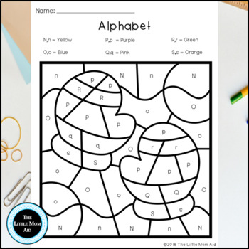 Winter Color by Letter | Alphabet Coloring Pages
