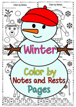 Winter Color by Music Pack