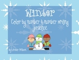 Winter Color by Number 1-20