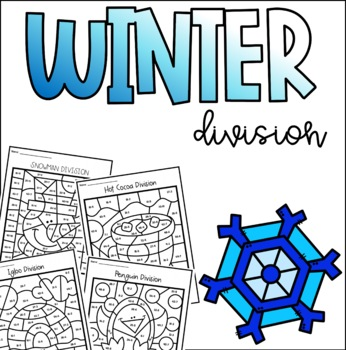 Winter Color by Number Division