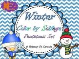 Winter Color by Solfege - Do, Re, Mi, So, La - Pentatonic Set