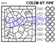 Winter Color-by-Time: Time Worksheets
