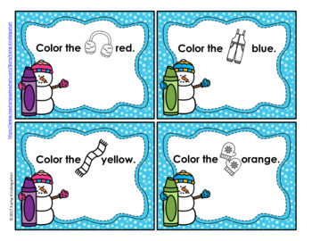 Winter Color the Room FREEBIE