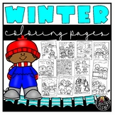 Winter Coloring Book {Educlips Resources}