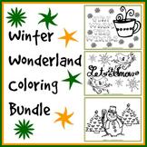 Winter Coloring Bundle